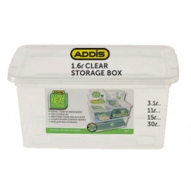 Addis Clear storage Box 1.6L