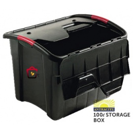 Antracite Storage Box 100Ltr