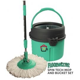 Shop Floorwiz Pro Spin Tech Mop Bucket Set Uganda