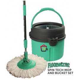 Floorw Pro spin Tech Mop Bucket Set