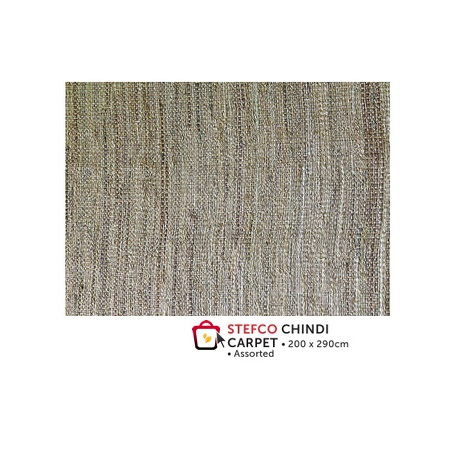 Stefco Chindi Carpet 200x290cm assorted