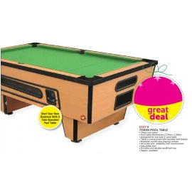 Easy 8 Token  Pool Table