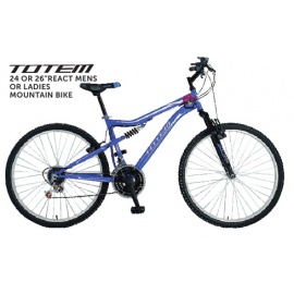 "Totem 24 / 26"" React Mountain Bike Unisex"