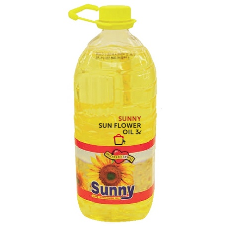 Sunny Sun Flower Oil 3l