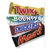 Bounty Twix Snickers Mars Chocolate Bars each