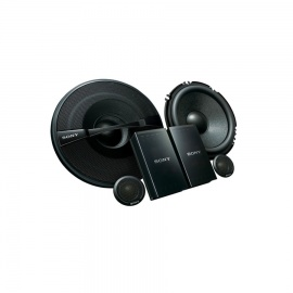 SONY XS GS1621C C CAR SPEAKERS Black