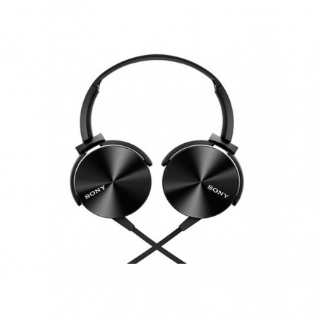 Sony MDRXB450APLQE Extra Bass Headphone Black