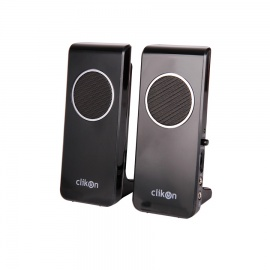 Clikon PC SPEAKER 2W 2 USB Connector with Earphonv CK 2903