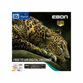 EBON Receiver 1080P Full HD MPEG4 H.264 PVR DVB T2