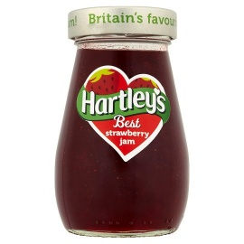 HARTLEYS B/STRAWBERRY JAM 340G