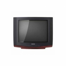 SAMSUNG 21 inch ctv ultra slim tv red finish CS21C510