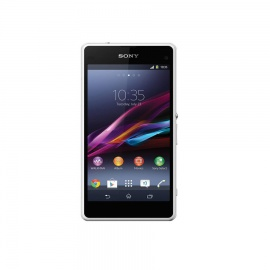 Sony Xperia Z1 Compact Micro SIM 4.3inches 16GB HDD 2GB RAM 20.7MP 2MP Camera 2300mAh White D5503