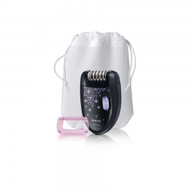 PHILIPS HP6422 Mains 2 speeds Opti Start cap with massage  pouch  cleaning brush Black,