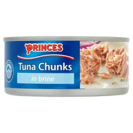 Princess Tuna Chunks in Brine 160g