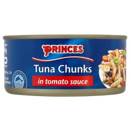 Princess Tuna Chunks in tomato sauce 160g