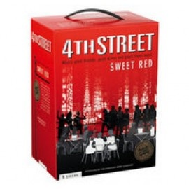 4TH STREET NATURAL SWEET RED 5LTR