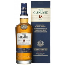 GLENLIVET SINGLE MALT 18YEARS 70CL