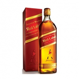 JOHNNIE WALKER RED LABEL 1LT