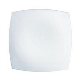 QUADRATO WHITE DINNER PLATE 24cm