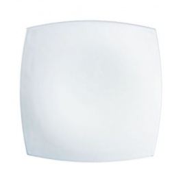 QUADRATO WHITE DINNER PLATE 24cm