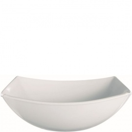 QUADRATO WHITE BOWL 24CM