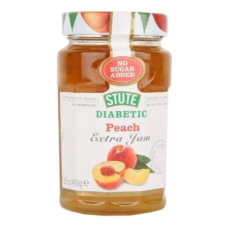 Stute diabetic peach extra jam 430g