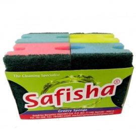 Safisha Groovy Sponge 4 packs