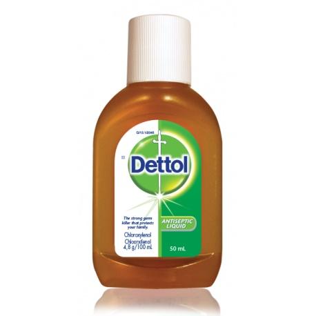 Dettol Antiseptic Liquid. 50Ml