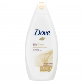 Dove Silk Glow Body Wash, 500ml