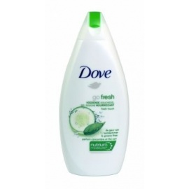 DOVE GO FRESH NOURISHING SHOWER GEL  FRESH TOUCH 500ML