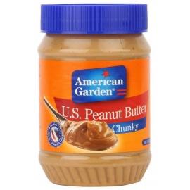 American Garden Peanut Cruchy Butter 510g