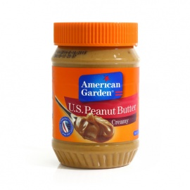American Garden Peanut Butter Smooth 510g
