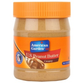 American Garden Peanut Butter Smooth340g