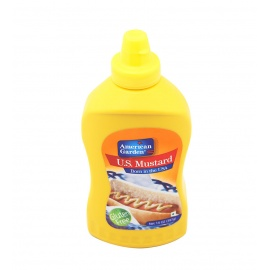 American Garden Mustard Squeezy 14OZ