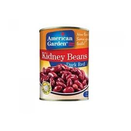 American Garden Dark Kidney Beans 400g