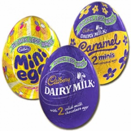 CADBURY TREASURE EGGS
