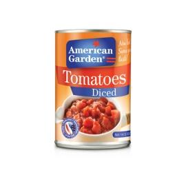 American Garden Tomato Diced 411g