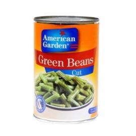 American Garden Green Beans 411g