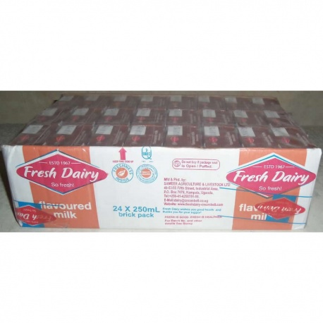FRESH DAIRY CHOCOLATE FLAVOUR 24X250ML