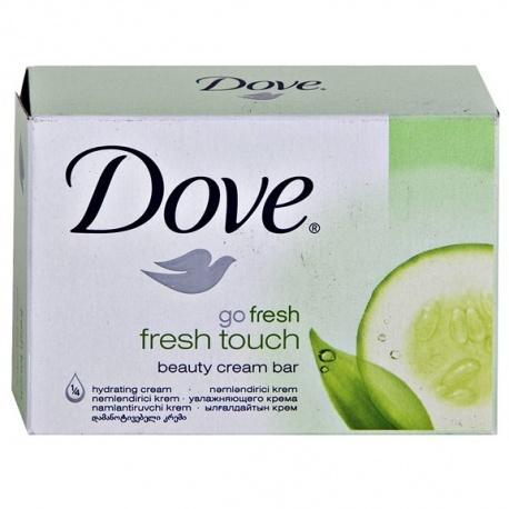 Buy Dove Go Fresh Touch Soap 135gm 4pc + Handwash 220ml
