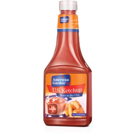 American GardenTomato Ketchup Squeeze, 567g