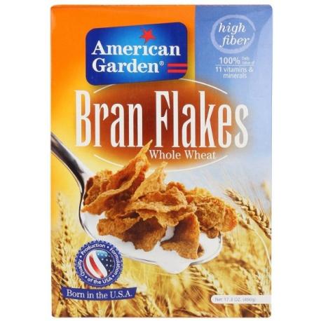 American Garden Bran Flakes 490g
