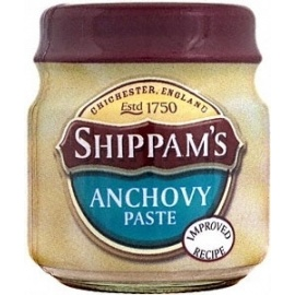 SHIPPAMS ANCHOVY PASTE 12x35G