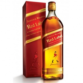 J W RED LABEL 75CL