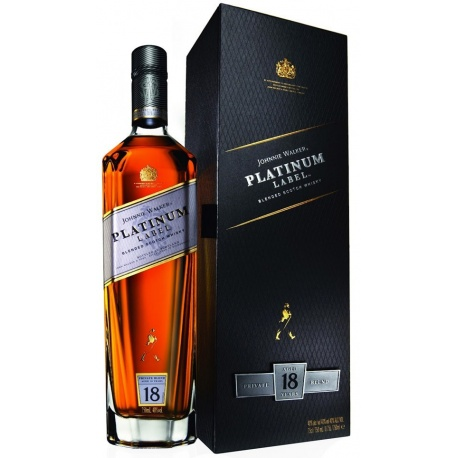 J W PLATINUM LABEL 75CL