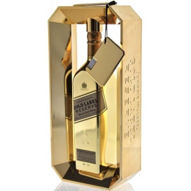 J W GOLD RESERVE BULLION PACK 75CL