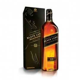 J W BLACK LABEL 75CL