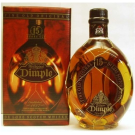 DIMPLE DELUXE 15YEARS 1LT