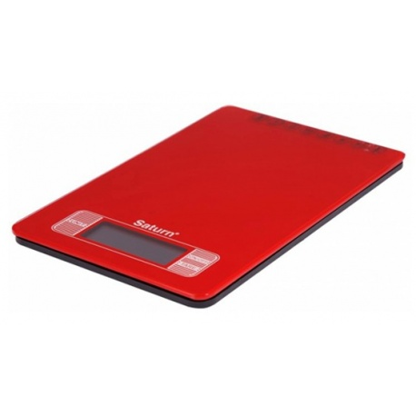 5kg Red Saturn Kitchen Scale (ST-KS7235)