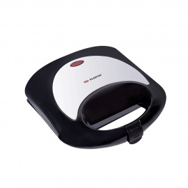 Elekta 2 Slice Sandwich Grill Maker with chrome top